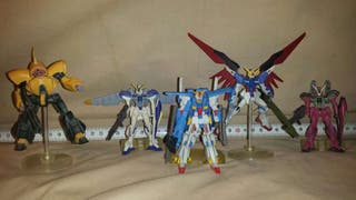 Gundam Gumpla Set 5 figuras