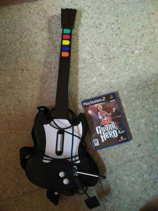 Guitar Hero juego PS2