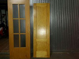 Puertas de color pino