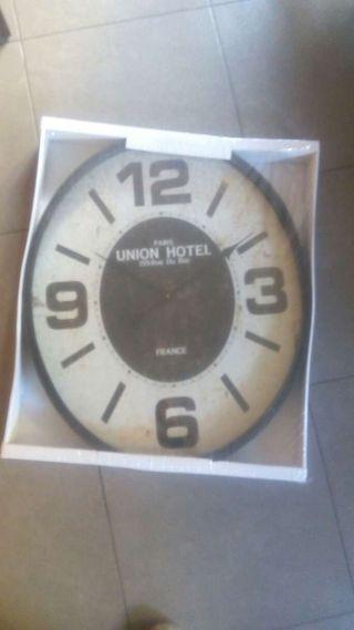 Reloj de paret. Union Hotel Paris