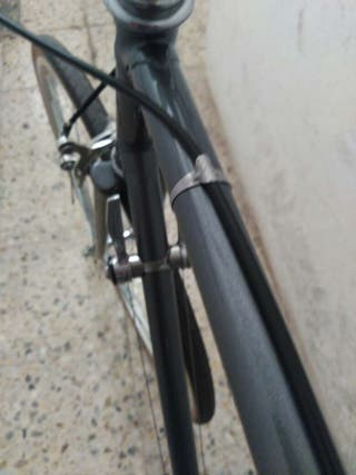 Bicicleta antigua fixie