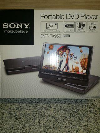 Reproductor dvd-usb portatil Sony.