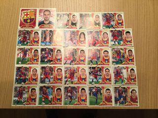 Cromos del Barcelona (Liga Este 2011-12)