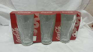 Pack vasos cocacola