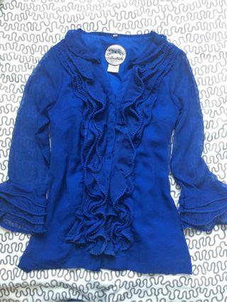 Camisa Almatrichi Azul Talla 36