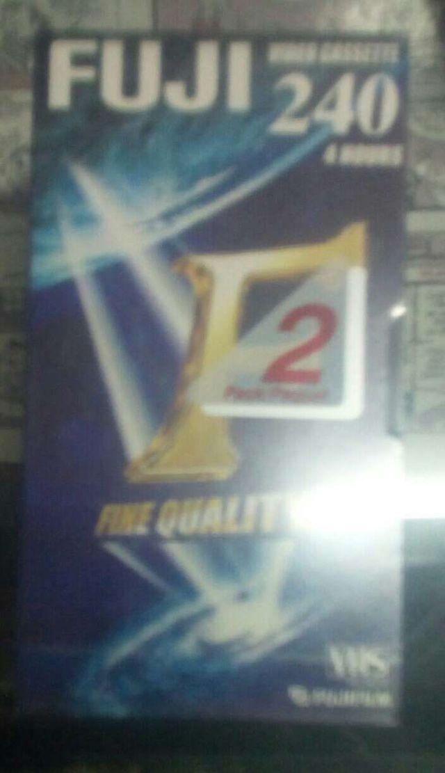 Videocassette VHS Fuji 240 minutos