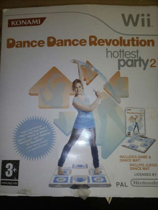 Dance revolution wii perfecto estado