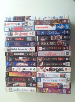 Peliculas VHS v.o Ingles