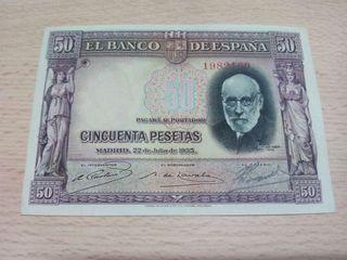 Billete 50 pesetas S/C