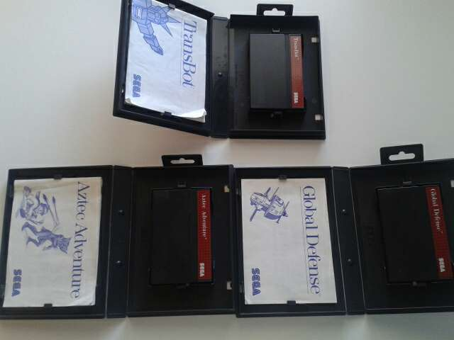 Juegos Sega Master System De Segunda Mano Por 30 En Madrid En Wallapop