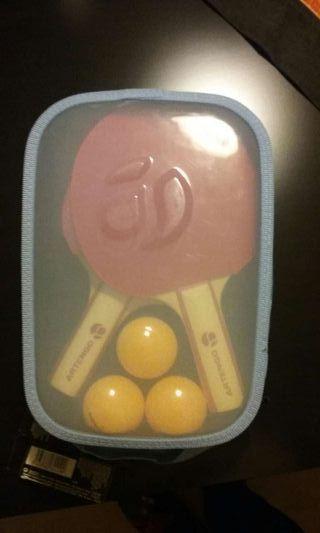 Kit ping pong. JUEGO para 2 personas