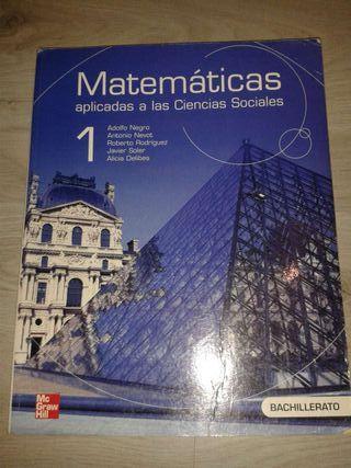 Libro matematicas aplicadas a las ciencias sociales 1