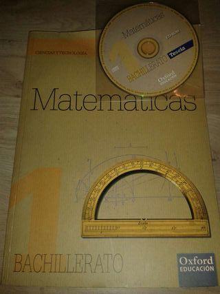 Libro matematicas 1 bachillerato oxford educación