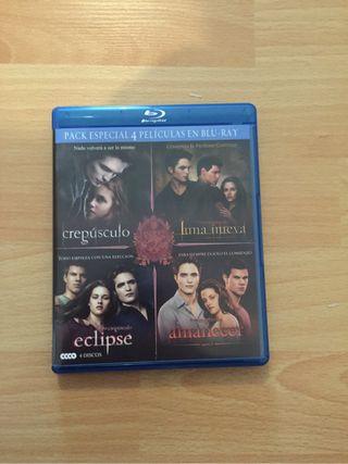 Blu-ray saga Crepusculo