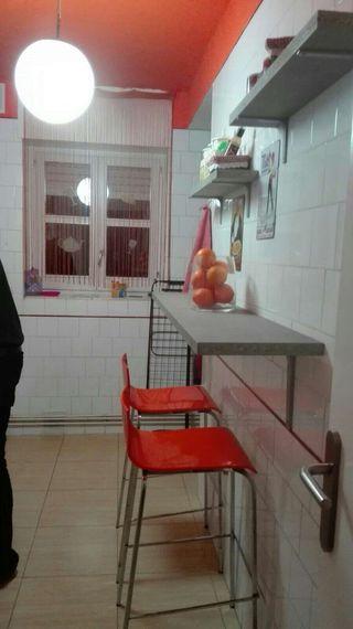 Barra de cocina 150x30 de 3 cm de grosor