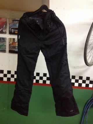 Pantalon Negro Ski Talla 12