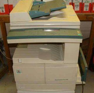 OFERTA Fotocopiadora Xerox WordCente Pro 416