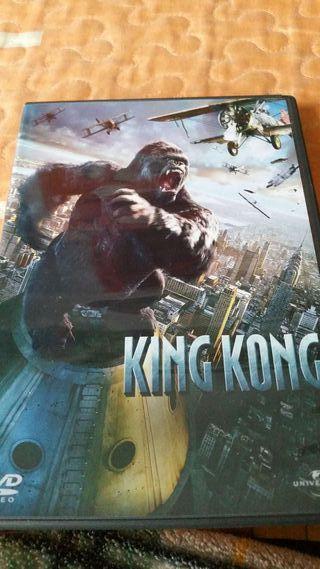 Dvd pelicula king kong universal