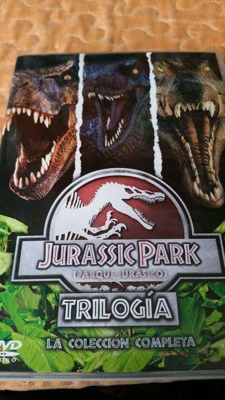 Dvd pelicula trilogia jurassic park universal