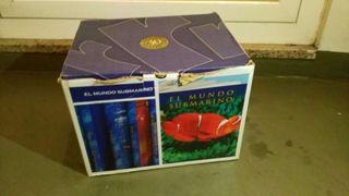 Enciclopedia el mundo submarino +6 DVD NUEVA!