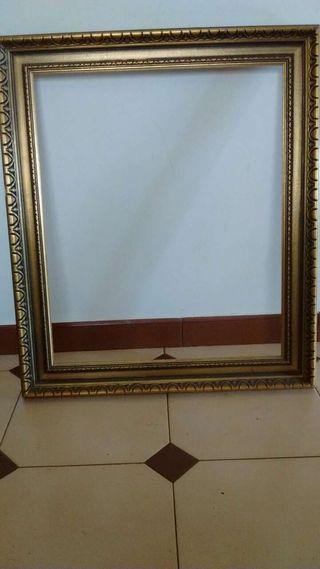 3 marcos de madera para cuadros