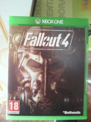 Fallout 4 y fallout 3para xbox one