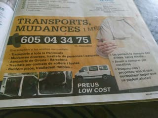 Mudanzas transportes y mas