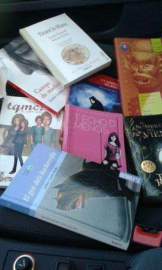 Libros de lectura en castellano y en valenciano