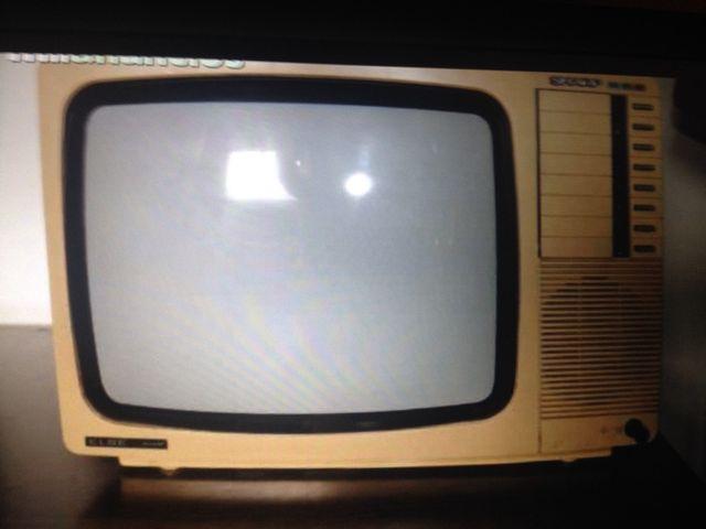 Television Antiguo Años 80