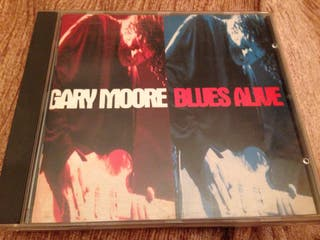 Disco Gary Moore Blues Alive