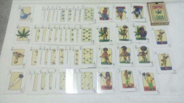 Baraja de cartas rasta