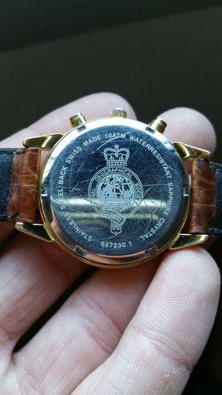 Reloj Delma Royal Geographical Society 1830 edició