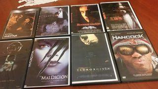 30 películas de DVD de terror e infantil