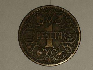 Monedas 1 peseta
