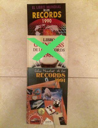 Libros de los récords