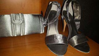 Zapatos con bolso a juego