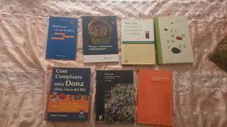 (T) 7 llibres educacio (en catala)