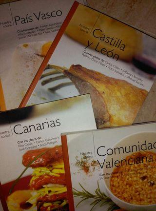 Coleccion libros cocina