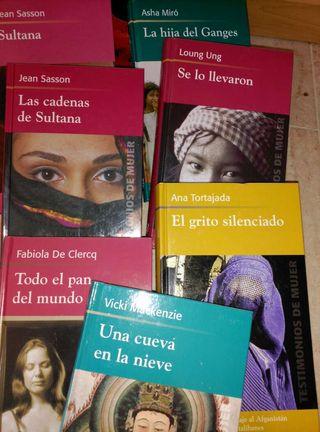 Coleccion libros historias de mujeres del mundo