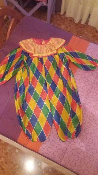 Disfraz de payaso arlequin