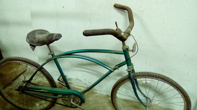 Bicicleta americana antigua