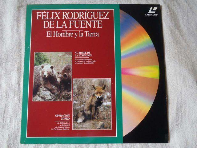 El hombre y la Tierra (Félix Rodríguez de la Fuente) en LaserDisc