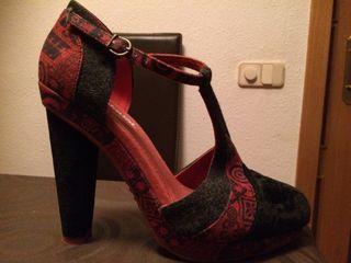 25 Mano Zapatos 1 Uso Desigual 37 Segunda De Por qpfp87