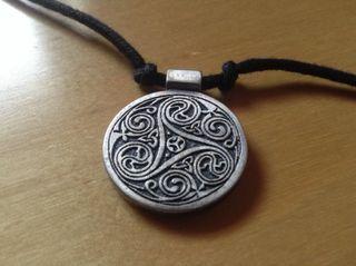 Medalla Triskel Vikingos Celtas