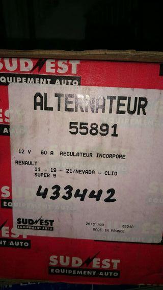 Alternador Renault