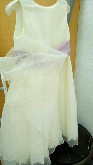 Vestido dama de honor niña