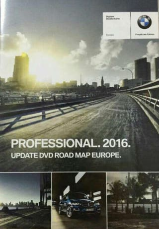 Bmw Serie 1 2 3 4 Road Map Europa Move 2016-1