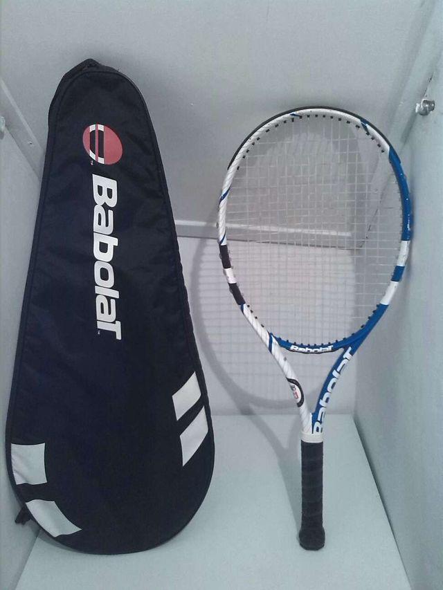 Raqueta de tenis babolat+funda