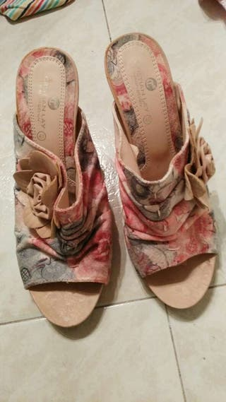 Sandalias de tacón n° 40