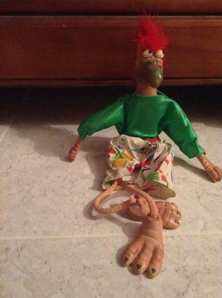 Muñeco de barro del taller artesano Manit